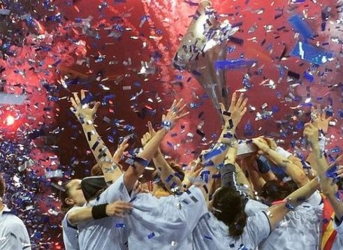 Buducnost campeon EHF Champions League 2015