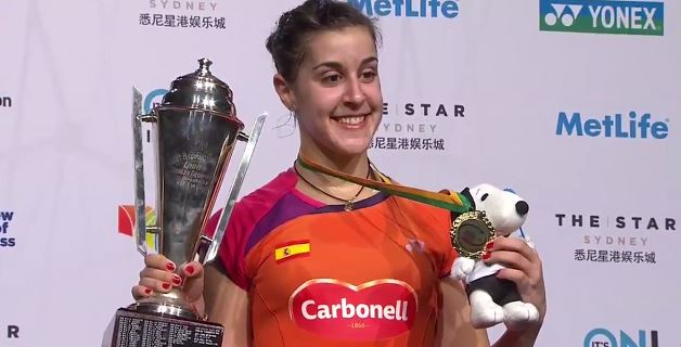 Carolina Marin vence en The Star Australian Open