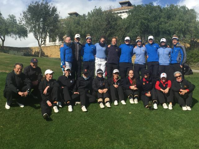 Match Femenino de Golf