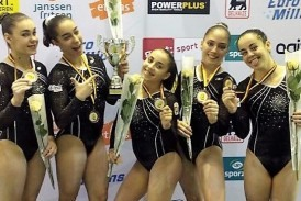 G. ARTÍSTICA| Las senior, bronce en la Flanders International Team Challenge