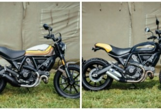 Ducati Scrambler en Wheels and Waves con dos modelos inéditos