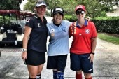 Thania Requena sube al podio en el US Open de FootGolf